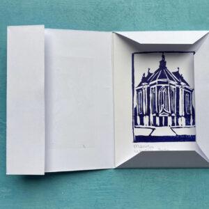set lino drukken Haagse gebouwen